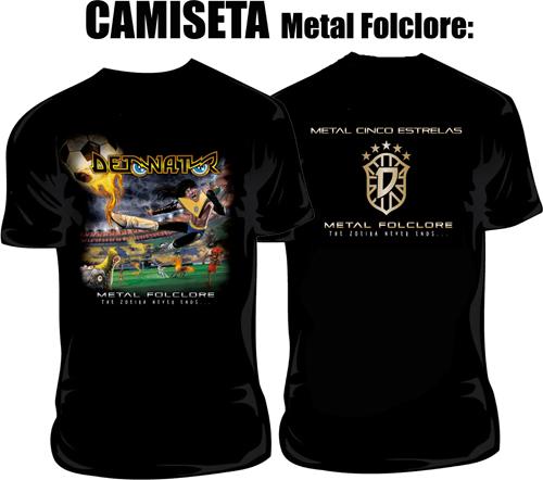camisa metal folclore
